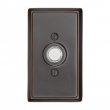 Emtek<br />2403 - 2403 DOORBELL BUTTON WITH RECTANGULAR ROSETTE