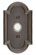 Emtek<br />2411 - DOORBELL BUTTON WITH 11 CAST BRONZE ROSETTE