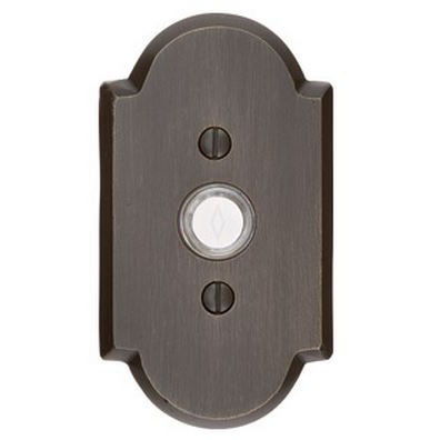 EMTEK Bronze & Steel Door Bell Buttons