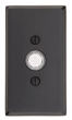Emtek<br />2423 - DOORBELL BUTTON WITH #3 SANDCAST BRONZE ROSETTE