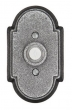 Emtek<br />2431 - DOORBELL BUTTON WITH #1 WROUGHT STEEL ROSETTE