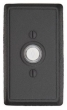 Emtek<br />2433 - DOORBELL BUTTON WTH #3 WROUGHT STEEL ROSETTE