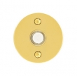 Emtek<br />2458 - 2458 DOORBELL BUTTON WITH DISK ROSETTE