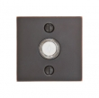Emtek<br />2459 - 2459 DOORBELL BUTTON WITH SQUARE ROSETTE