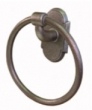Emtek<br />2501 - EMTEK WROUGHT STEEL TOWEL RING