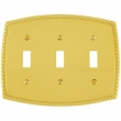 Emtek<br />29213 EMTEK - TOGGLE 3, ROPE SWITCH PLATE