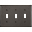 Emtek<br />29313 EMTEK - TOGGLE 3, BRONZE SWITCH PLATE