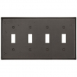 Emtek<br />29314 EMTEK - TOGGLE 4, BRONZE SWITCH PLATE