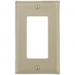 Emtek<br />29321 EMTEK - ROCKER 1, BRONZE SWITCH PLATE