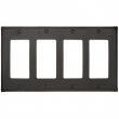 Emtek<br />29324 EMTEK - ROCKER 4, BRONZE SWITCH PLATE