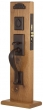 Emtek<br />3024 - Rectangular Sectional Mortise Entry Set Dummy