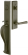 Emtek<br />452613 - Rectangular Full Length Tubular Entry Set - Double Cylinder