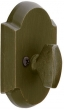 Emtek<br />8557 - SANDCAST BRONZE #1 STYLE SINGLE SIDED DEADBOLT