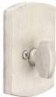 Emtek<br />8574 - SANDCAST BRONZE #4 STYLE SINGLE SIDED DEADBOLT