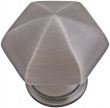 Emtek<br />86119 EMTEK - BRASS HEXAGON CABINET KNOB 1 1/8&quot;