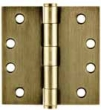 Emtek<br />92014  - HEAVY DUTY HINGE PAIR 4&quot; x 4&quot; (SQUARE CORNER)