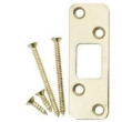 Emtek<br />93223 - HEAVY DUTY DEADBOLT STRIKEPLATE WITH FOUR SCREWS