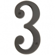 Emtek<br />5.5 inch - BRASS 5-1/2&quot; HOUSE NUMBERS