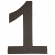 Emtek<br />Select the Finish  - BRONZE 4&quot; HOUSE NUMBERS