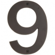 Emtek<br />Select the Finish - BRONZE 6&quot; HOUSE NUMBERS