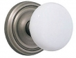 Emtek<br />EMTEK Ice White Knob - Porcelain Ice White Knob