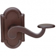 Emtek<br />Select the Rose - Bronze Tuscany/Lost Wax PADUA LEVER