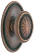 Emtek<br />Select the Rose - LOST WAX/TUSCANY CAST BRONZE PARMA KNOB