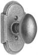 Emtek<br />Savannah Knob - Wrought Steel Savannah Knob