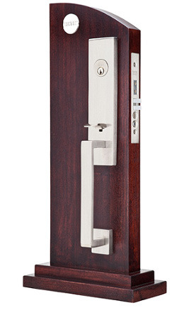 Emtek Stainless Steel Mortise Entrance Set