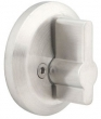 Emtek<br />S52005 - STAINLESS STEEL ROUND STYLE SINGLE SIDED DEADBOLT