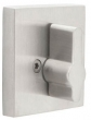 Emtek<br />S52006 - STAINLESS STEEL SQUARE STYLE SINGLE SIDED DEADBOLT