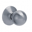 Schlage<br />F170 ORB 626 - Orbit Knob Single DUMMY - Satin Chrome