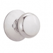 Schlage<br />F10 PLY 625  - Plymouth Knob Passage Set - Bright Chrome