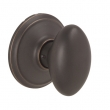 Schlage<br />F170 SIE 716  - Siena Knob Single DUMMY - Aged Bronze