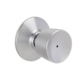 Schlage<br />F40 BEL 626  - Bell Knob Privacy Set - Satin Chrome