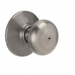Schlage<br />F40 PLY 620  - Plymouth Knob Privacy Set - Antique Pewter