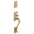Schlage<br />F392 ADD 505 - Addison Handleset DUMMY - PVD Polished Brass