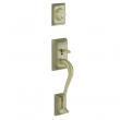 Schlage<br />F392 ADD 609  - Addison Handleset DUMMY - Antique Brass