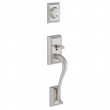 Schlage<br />F360 ADD 619  - Addison Handleset - Satin Nickel