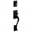 Schlage<br />F392 ADD 622 - Addison Handleset DUMMY - Matte Black