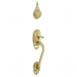 Schlage<br />F392 BOW 505 - Bowman Handleset DUMMY - PVD Polished Brass