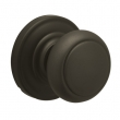 Schlage<br />F10 AND 613  - Andover Knob Passage Set - Oil Rubbed Bronze