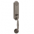 Schlage<br />FA392 FLO 620 with FLO INTERIOR - Florence Handleset DUMMY - Antique Pewter