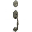 Schlage<br />FA392 MNT 620  - Monticello Handleset DUMMY - Antique Pewter