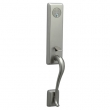 Schlage<br />FA392 MON 619 with MON INTERIOR - Monaco Handleset DUMMY - Satin Nickel
