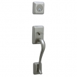 Schlage<br />FA360 STN 619  - Sutton Handleset - Satin Nickel