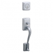 Schlage<br />FA360 STN 626  - Sutton Handleset - Satin Chrome