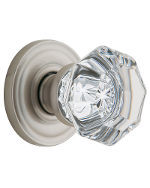5080 Filmore Crystal Knob with 5048 Rose