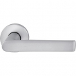 FSB Door Hardware <br />1093 - FSB 1093 Stainless Steel Tubular Lever Handle Set