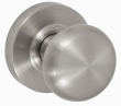 Fusion Hardware <br />01-A2 - Half Round Knob with Contemporary Rose
